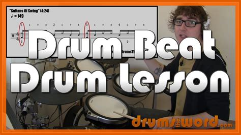 sultans of swing drums sultans of swing dire straits drum lesson how to