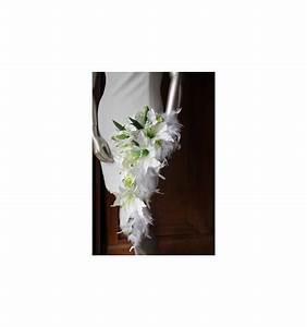 Bouquet De La Mariée : bouquet de mari e blanc tombant th me anis plumes ~ Melissatoandfro.com Idées de Décoration
