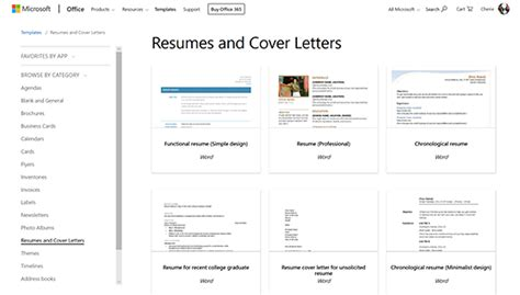 Resume Template Windows 8 by Find Resume Templates For Microsoft Word