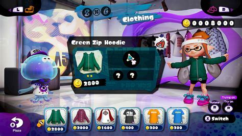 Splatoon's Clothing Shop and Gear Perks Discussed