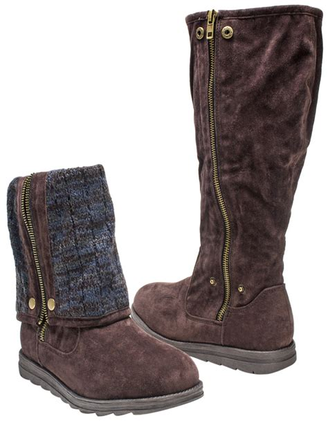 ankle sweater boots muk luks demi 39 s fold sweater ankle booties