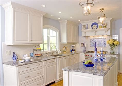 ice blue granite kitchen traditional with subway tile cotton tablecloths