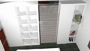 Cloison Amovible Ikea : cloison mobile avec expedit ~ Melissatoandfro.com Idées de Décoration