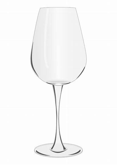 Wine Coloring Glass Pages Printable
