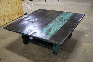 best 25 teal coffee tables ideas on pinterest pallett With rustic teal coffee table