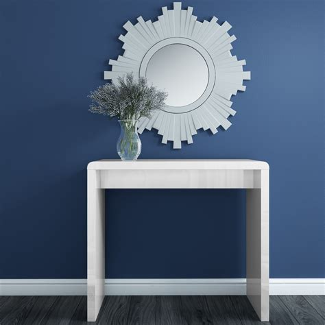 White High Gloss Narrow Console Table  £13697  Picclick Uk