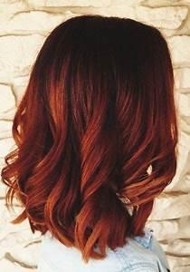 Balayage Braun Rot : rote ombre frisur ideen f r 2017 2017 frisur f r ideen ombre rote hair color in ~ Frokenaadalensverden.com Haus und Dekorationen