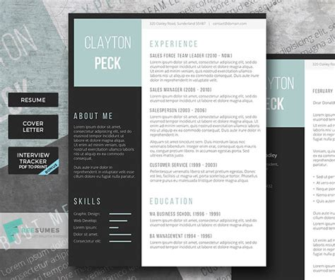 Creative Resume Templates by 21 Stunning Creative Resume Templates