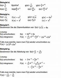 Brüche Berechnen : stammfunktion bilden fl che berechnen integral bilden integral mathe ~ Themetempest.com Abrechnung