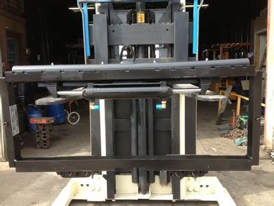 lift truck side shift attachments bay forks