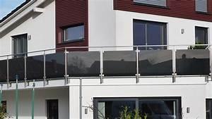 Balkon Mit Glas : balkon verglasung mit klemmhalter ~ Frokenaadalensverden.com Haus und Dekorationen
