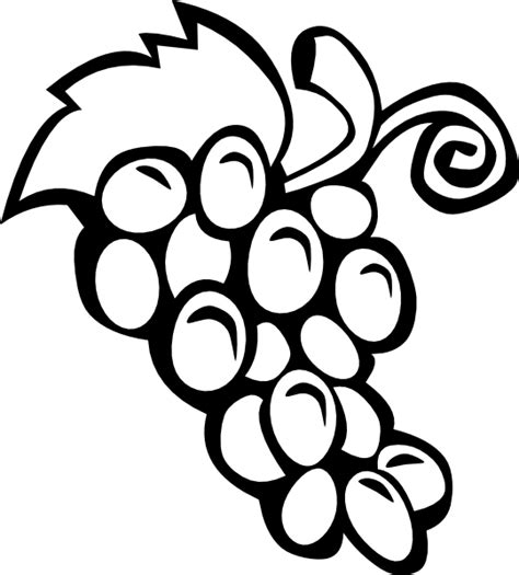 grape vine clip art  clkercom vector clip art