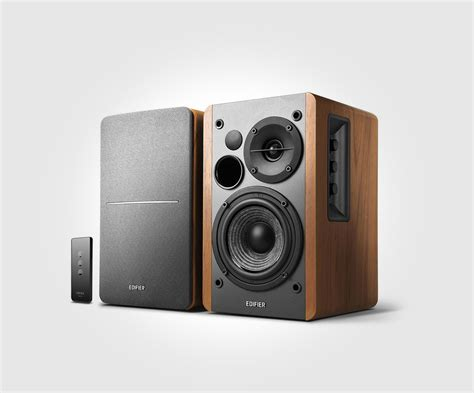 powered bookshelf speakers edifier international r1280t powered bookshelf speakers