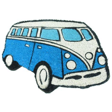 vans doormat vw cer shaped door mat splittie coir novelty