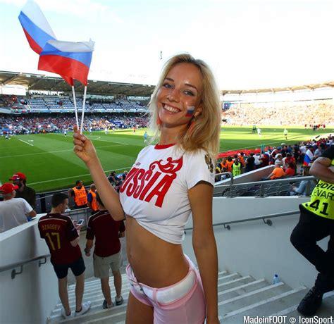 The most beautiful Russian soccer fan girls - MegaSoccer Blog