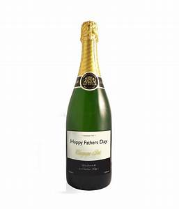Personalised champagne bottle vintage label just for gifts for Champagne bottle stickers