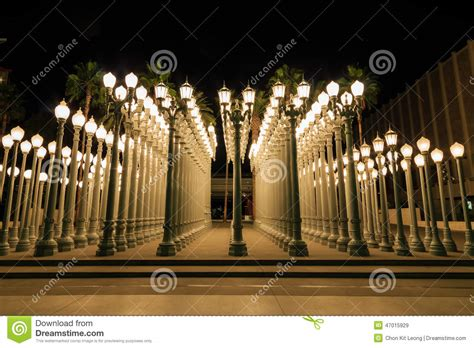 light los angeles stock image image of