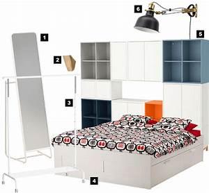 Chambre 9m2 Ikea : comment am nager une petite chambre de 9m petit prix ~ Melissatoandfro.com Idées de Décoration