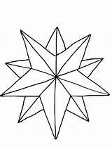 Star Coloring Pages Christmas Stars Drawing Nativity Colouring Line Printable Ornaments Cliparts Nice Outline Disney Sheet Cool Getdrawings Jesus Flower sketch template