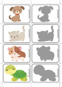 картинки на шкафчики и кроватки в детском саду 6 plak 225 t 964 | 930200fd9c8b242ef3910c553195d4d0 shadow matching preschool pets preschool theme