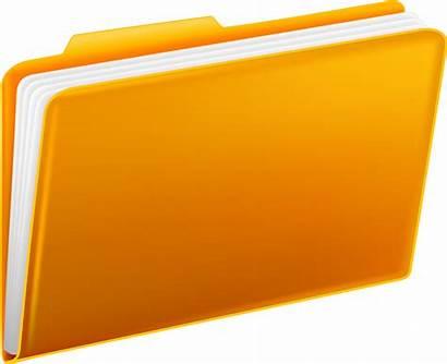 Folder Folders Yellow Clipart Transparent Definition Icon