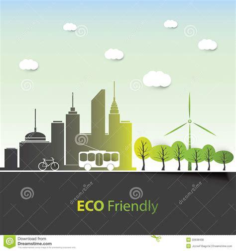 environment friendly design eco friendly background design stock vector image 32638438
