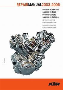 Repair Manual Ktm 990  950 Lc8 2003-2006 By Ktm Lc8