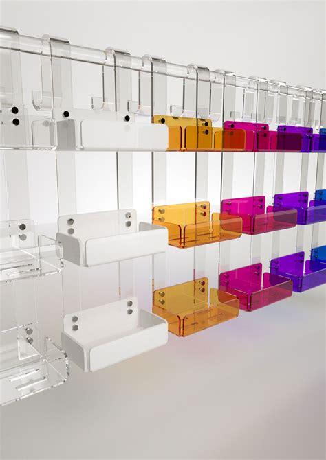 mensola doccia mensola tripla accessori bagno in plexiglass arte