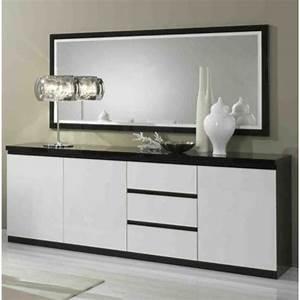 Buffet Avec Miroir : miroir bahut achat vente miroir bahut pas cher cdiscount ~ Teatrodelosmanantiales.com Idées de Décoration