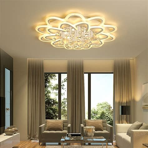 led crystal ceiling lamp  living room bedroom kitchen