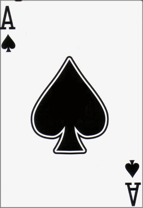 Ace Of Spade Wallpaper View Full Size Image