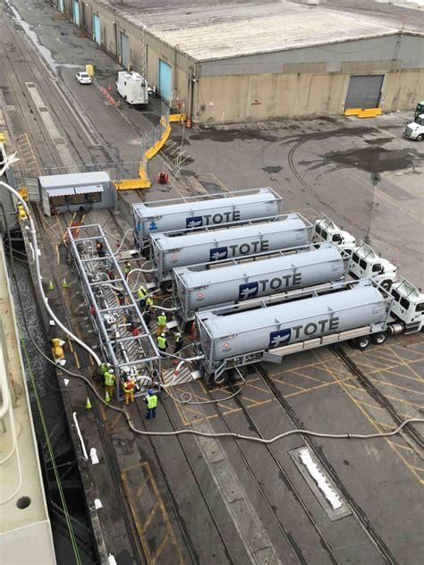 TOTE Maritime Puerto Rico Performs First LNG Bunkering