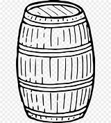 Barrel Drawing Coloring Keg Wine Clipart Computer Icons Clip Sketch Wooden Template Pages Transparent sketch template