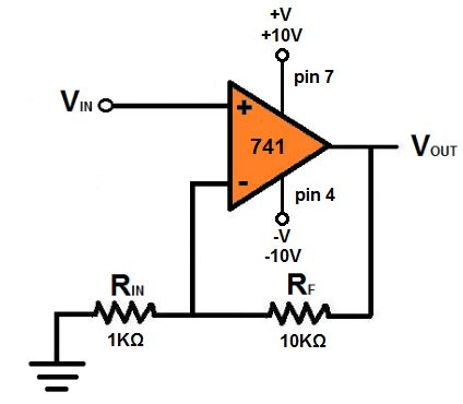 How Build Non Inverting Amp Circuit