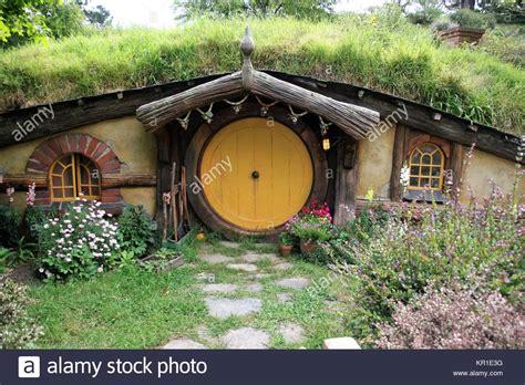 Hobbit Haus In Hobbiton Stockfoto, Bild 169063428 Alamy