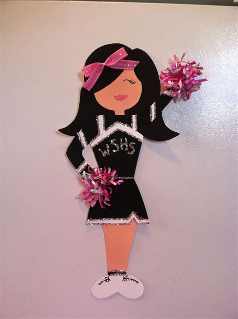 cheer decorations 25 best ideas about cheerleading crafts on