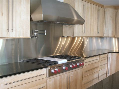 stainless kitchen backsplash product images commerce metals