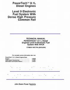 John Deere Powertech 8 1l Level 9 Fuel System Ctm255 Pdf