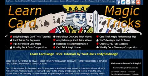 learn magic tricks top 10 websites to learn amazing magic tricks for free