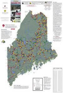 Maine ATV Trail Map