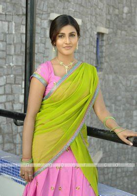 women hairstyle telugu actress kousha  saree phot album