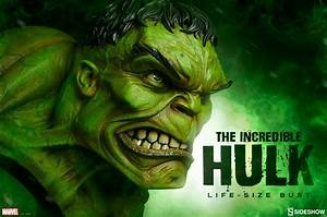 The Incredible Hulk Life-Size Bust | Sideshow Collectibles