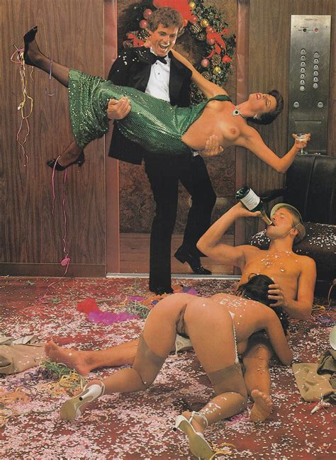 New Years Eve Office Party Orgy Hustler Magazine 1982