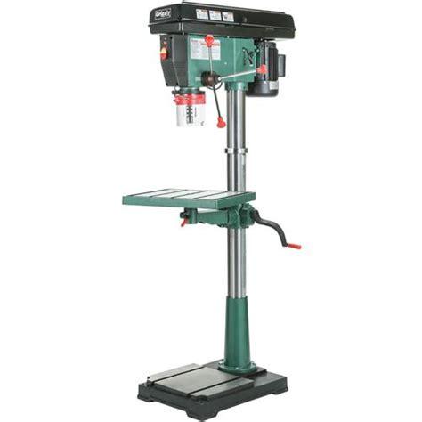 delta floor standing drill press 12 speed 20 quot floor drill press grizzly industrial