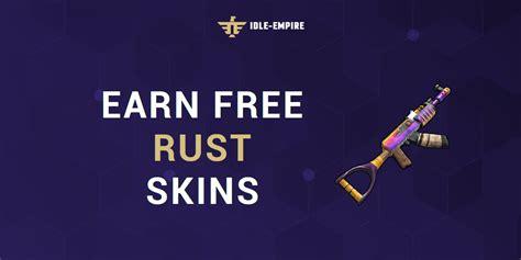 rust skins rewards idle empire