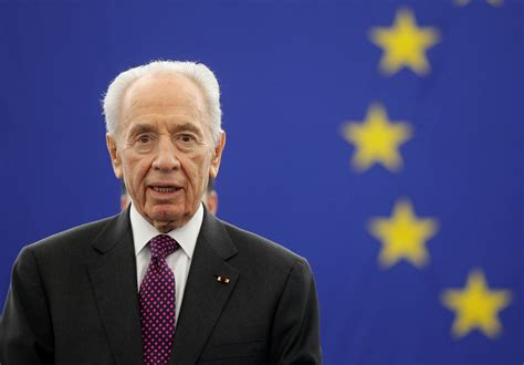 Shimon Peres, Israel's elder statesman on defense and
