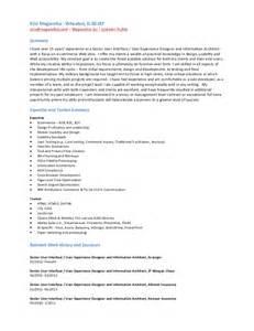 user interface designer resume sle ezio magarotto ui ux ia resume
