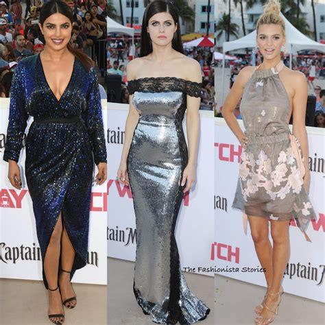Priyanka Chopra, Alexandra Daddario & Kelly Rohrbach At