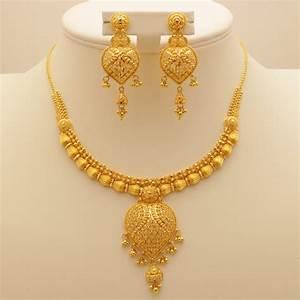 22 Carat Indian Gold Necklace Set 43.4 Grams | Gold Forever