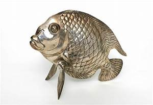 Fisch Mit H : fisch messing versilbert tisch dekoration deko teich aquarium metall silber neu ebay ~ Eleganceandgraceweddings.com Haus und Dekorationen